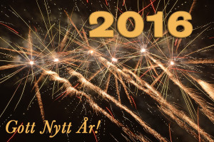 Gott Nytt 2016!